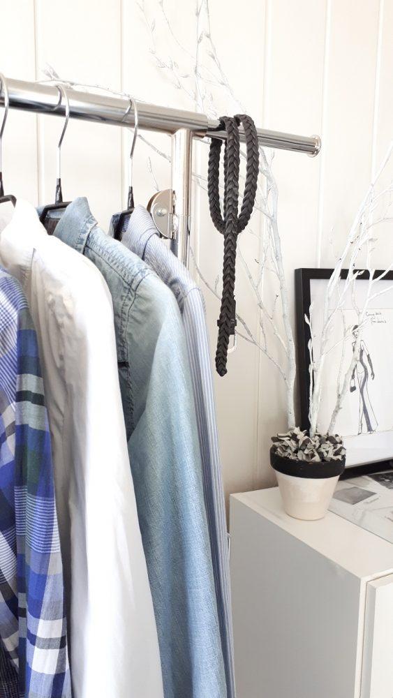 On ne porte que 30% de nos vêtements, alors autant opter pour un dressing minimaliste constitué des vêtements qui nous correspondent.