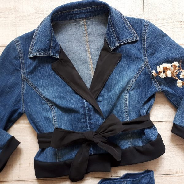 Veste Claudia - Collection upcycling