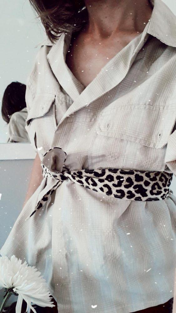Avoir de beaux vêtements sur mesure et éthiques n'est pas réservée à une élite. Eco-designer textile, je vous apprends à réaliser un top facile à coudre.