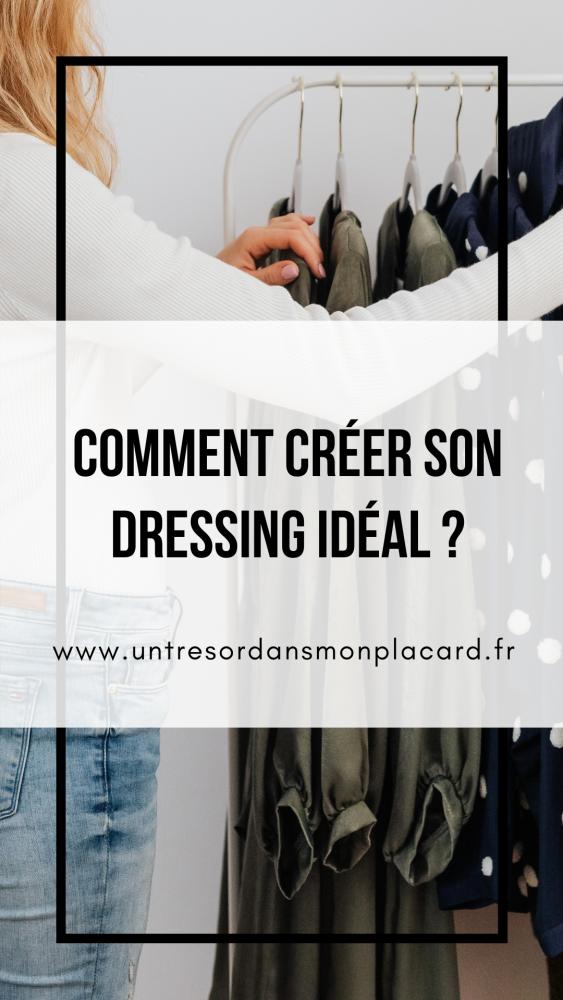 Le dressing idéal est celui qui est constitué de vêtements qui nous fait nous sentir bien belle et confiante. Voici comment le créer!