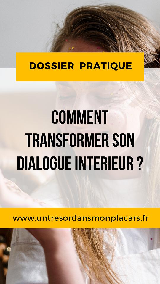 A la recherches d'idée pour améliorer ta relation à toi même ? Voici 3 pistes pour transformer ton dialogue interne.