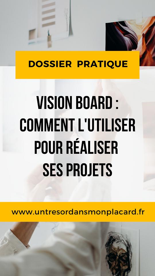 Tu veux mettre toutes les chances de ton côté pour concrétiser tes projets ? Le vision board est l'outil idéal pour clarifier ce que tu veux.