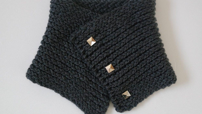 Comment réaliser un snood au tricotin géant ?