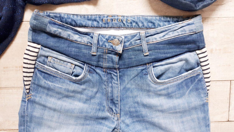 Comment transformer un jean taille basse en jean taille haute ?